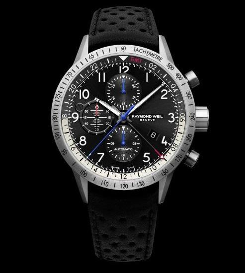 Raymond Weil Freelancer Piper Watch Front