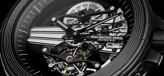 Raymond Weil Nabucco Cello Tourbillon Watch Dial