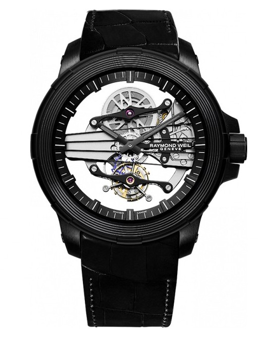 Raymond Weil Nabucco Cello Tourbillon Watch Front