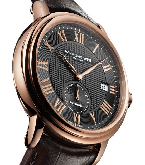 Raymond Weil New Maestro Petite Seconde or Rose Watch