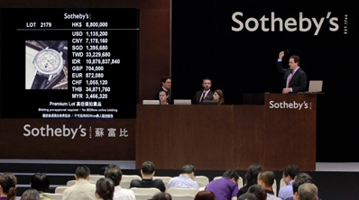 Hong Kong Sotheby's Autumn Sale 2012