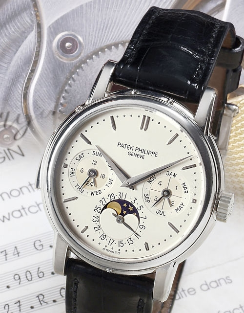 Patek Philippe Ref.3974G White Gold Watch