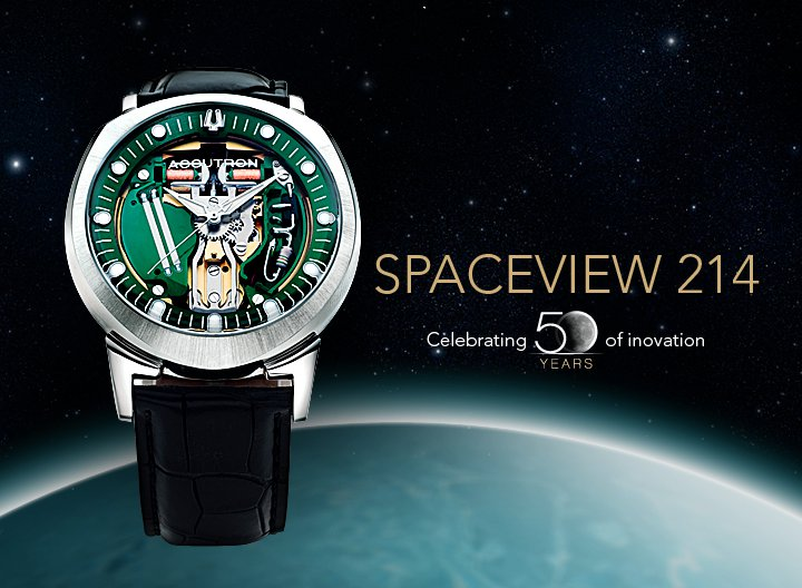 Bulova Accutron Spaceview 214 Collectible Limited Edition