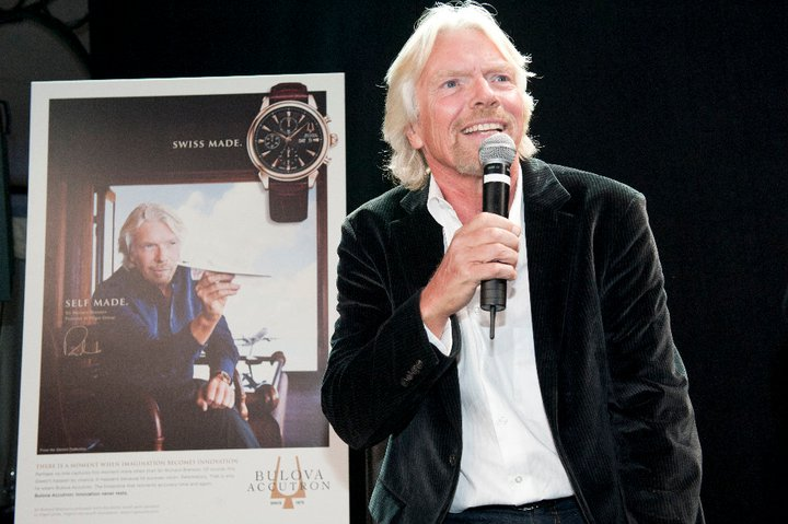 Sir Richard Branson Baselworld 2011 Bulova Accutron