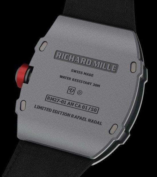 Richard Mille RM27-01 Watch Caseback