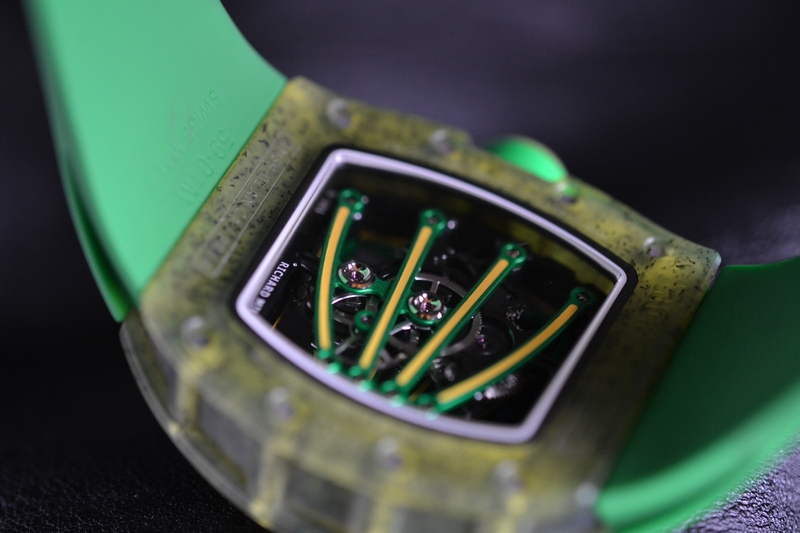 Richard Mille RM59-01 Yohan Blake Watch Caseback