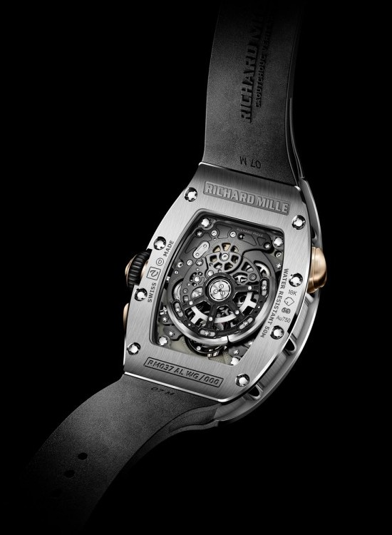 Richard Mille Presents RM 037 Watch Caseback