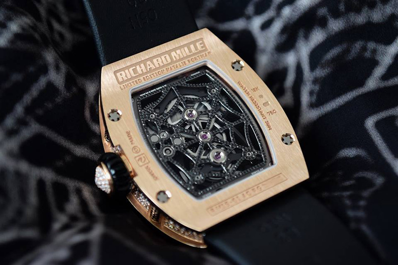 Richard Mille RM 19-01 Red Gold Watch Back