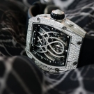 Richard Mille RM 19-01 White Gold Watch