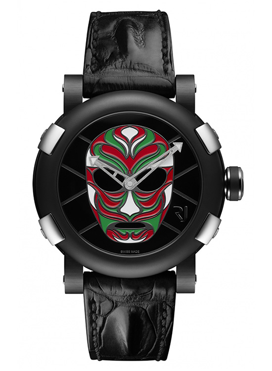 RJ-Romain Jerome Lucha Libre Mexicana Watch Front