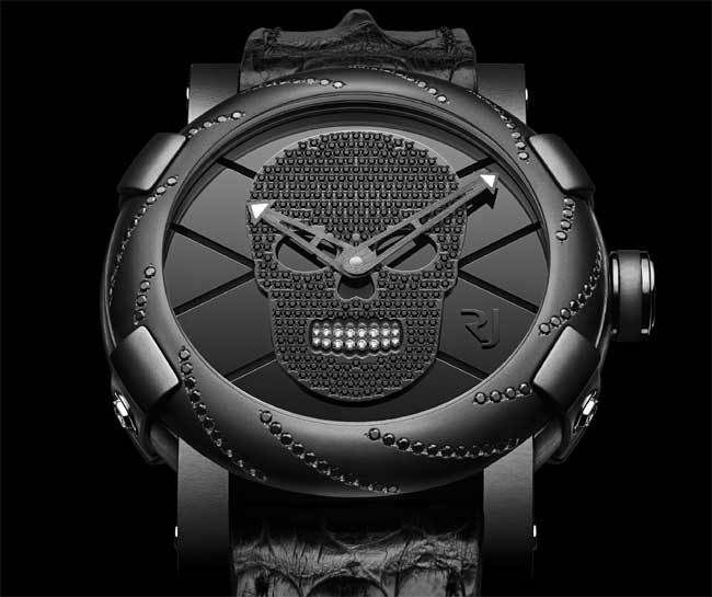 "RJ-Romain Jerome ""Día de los Muertos"" All Black Watch"