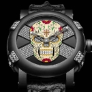 "RJ-Romain Jerome ""Día de los Muertos"" Bezel And Diamonds Watch"