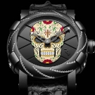 "RJ-Romain Jerome ""Día de los Muertos"" Bezel Diamonds Watch"