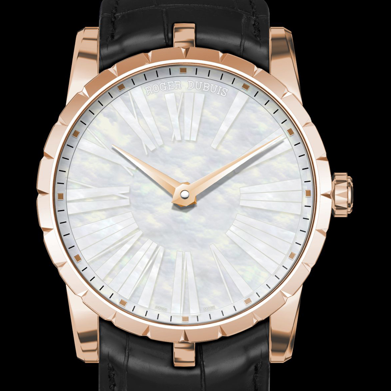 Roger Dubuis Excalibur 42 Automatic Mother-of-Pearl Watch
