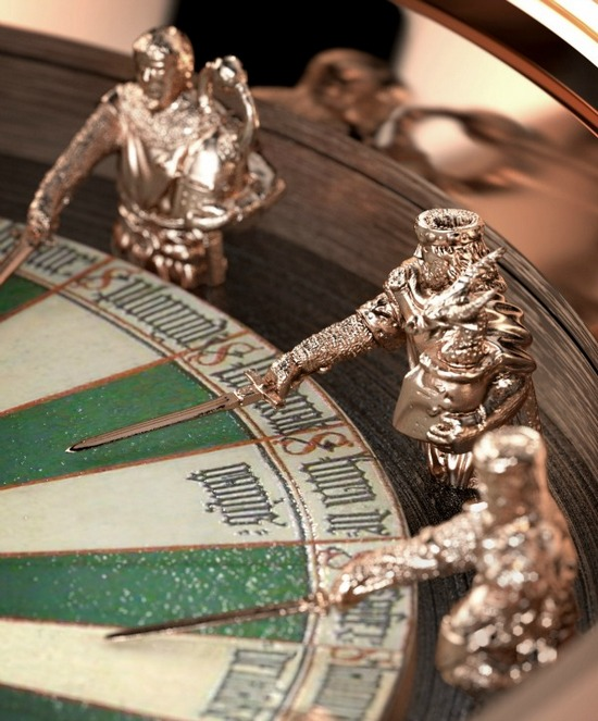 Roger Dubuis Excalibur Table Ronde Watch Detail