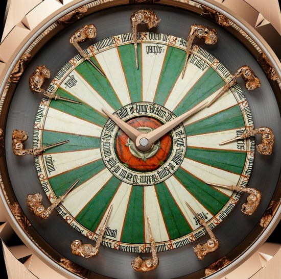 Roger Dubuis Excalibur Table Ronde Watch Dial