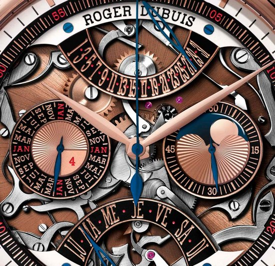 Roger Dubuis Hommage Millésime Pocket Watch Dial
