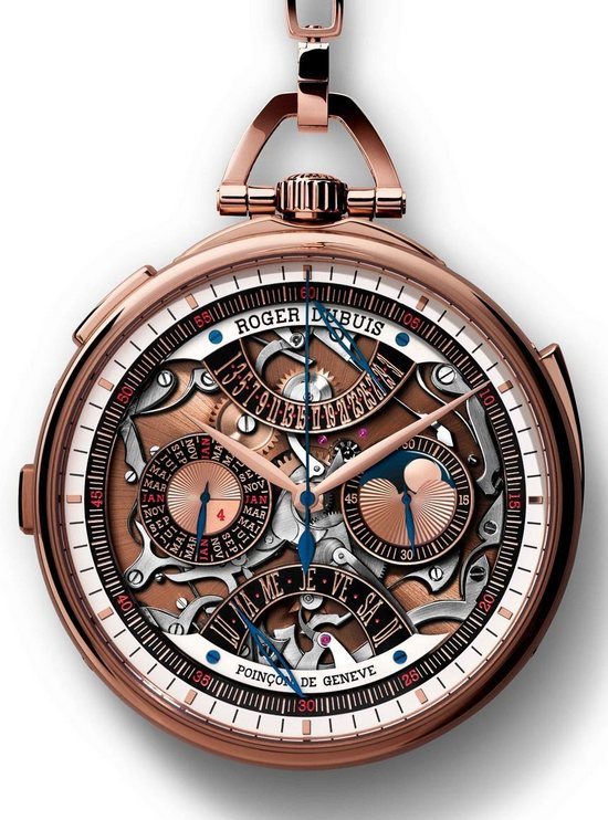 Roger Dubuis Hommage Millésime Pocket Watch Front
