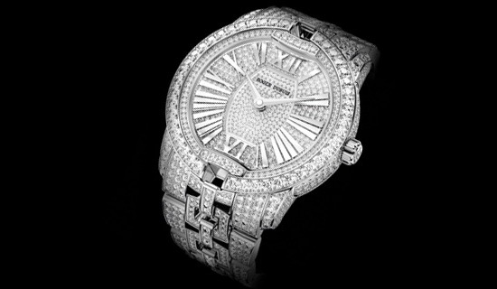 Roger Dubuis Velvet in White Gold Watch