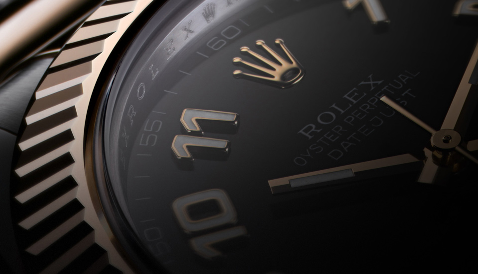 Rolex Oyster Perpetual Datejust Dial Detail