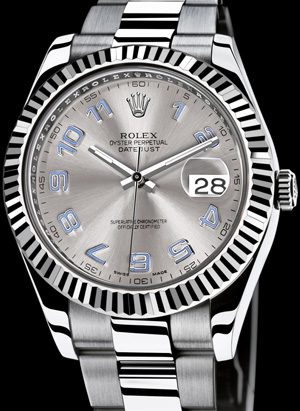 vers ref perpetual rolex date square thumb en datejust in watch stainless collector steel wrist watches oyster
