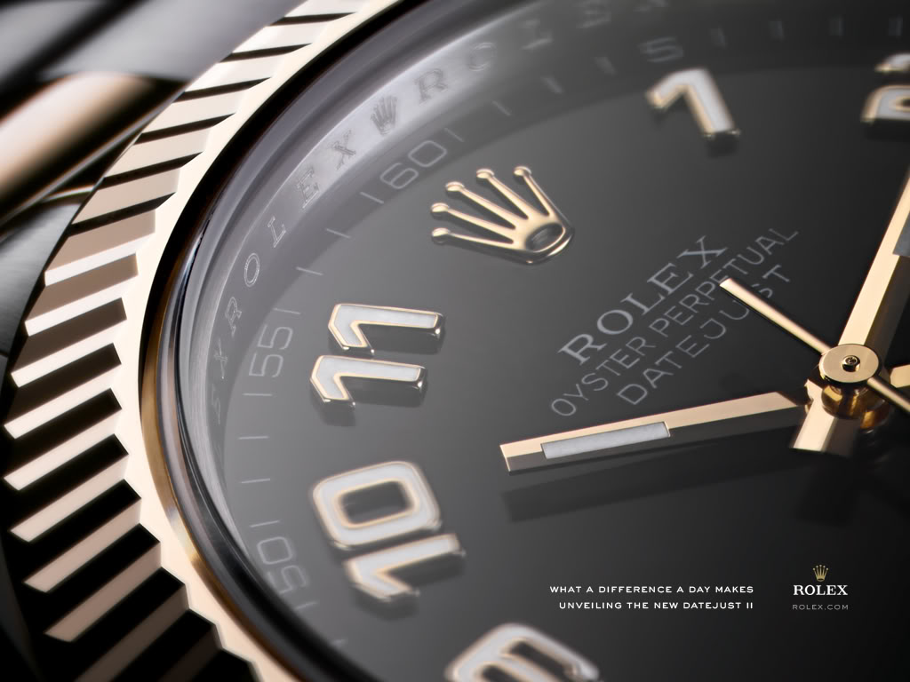 Rolex Oyster Perpetual Datejust II Watch Dial Detail