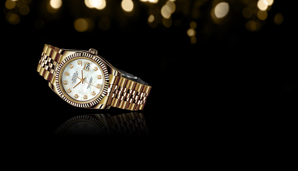 Rolex Lady Datejust 36mm Yellow Gold