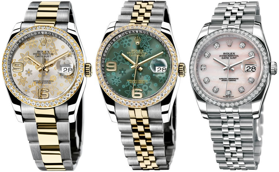 Rolex Lady Datejust 36mm Watch Collection