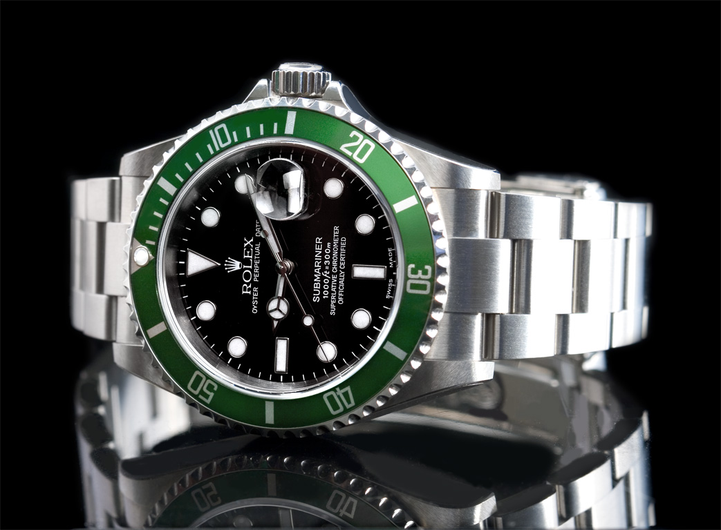 Rolex oyster perpetual submariner diving watch watch review for Submarine watches
