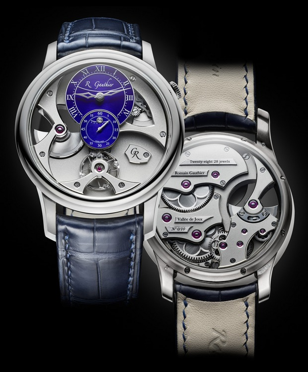 Romain Gauthier Insight Micro-Rotor Platinum Watch