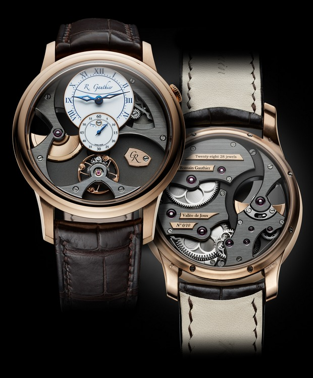 Romain Gauthier Insight Micro-Rotor Red Gold Watch