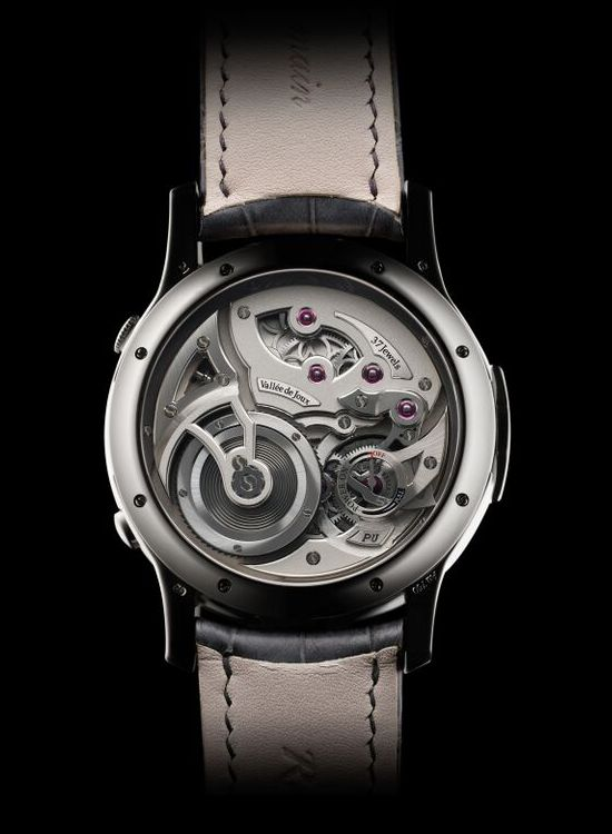 Romain Gauthier Logical one Secret Kakau Watch Case Back