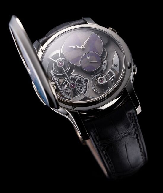 Romain Gauthier Logical One Secret Kakau Watch Inside