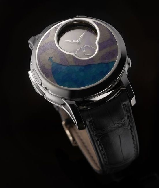 Romain Gauthier Logical one Secret Kakau Watch