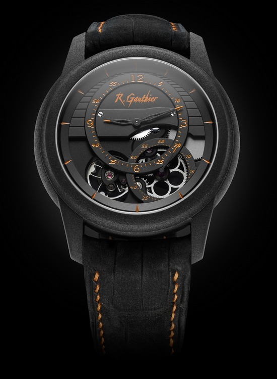 Romain Gauthier Prestige HMS Enraged Watch Orange Accents