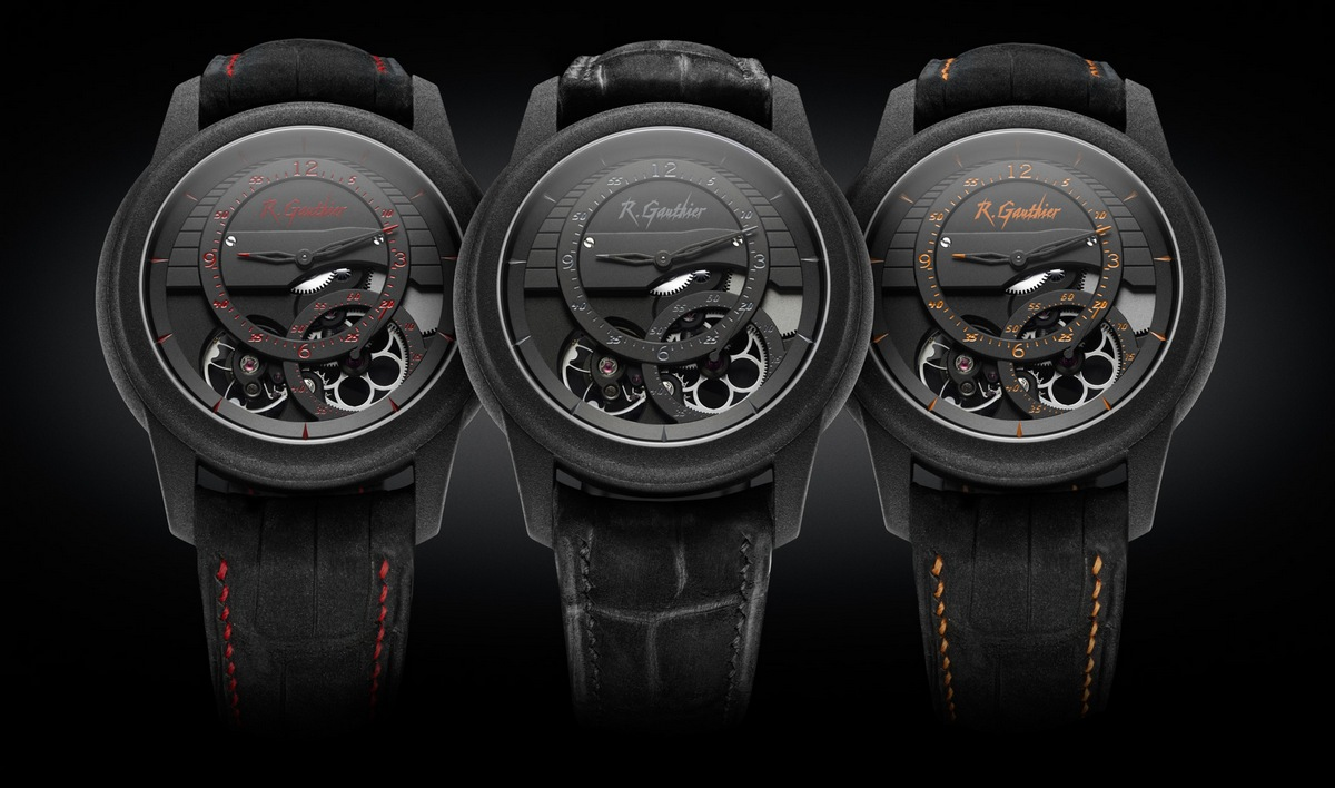 Romain Gauthier Prestige HMS Enraged Watches Trio