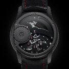 Romain Gauthier Prestige HMS Enraged Watch Red Accents Case Back