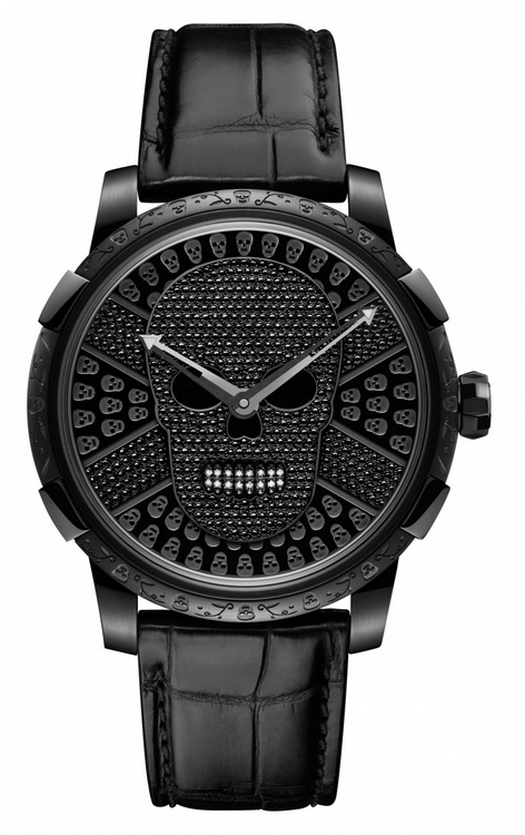 Romain Jerome Día de los Muertos Clásico Watch with Diamonds