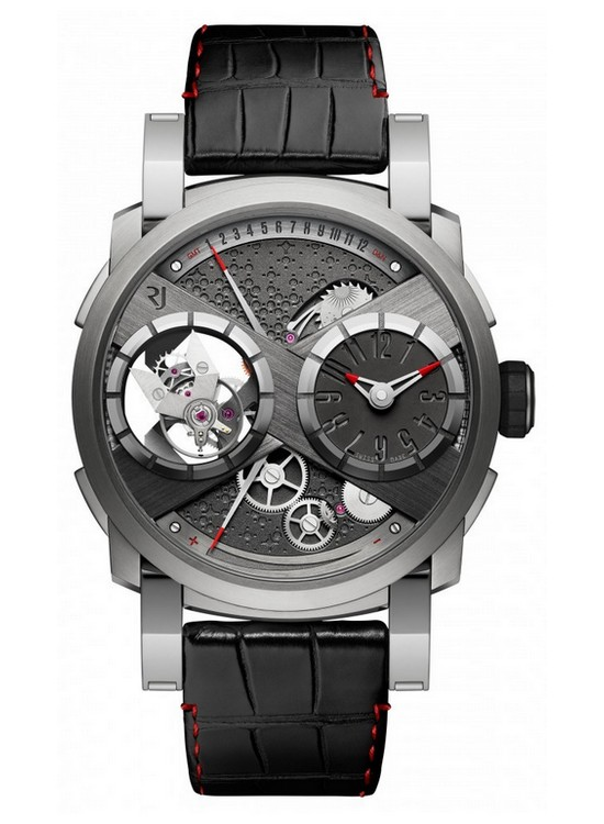 Romain Jerome Moon Orbiter GMT Watch Front