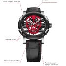 Romain Jerome Skylab 48 Speed Metal Skull Watch