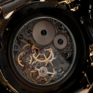 Invicta Russian Diver Nautilus Skeleton Movement Back