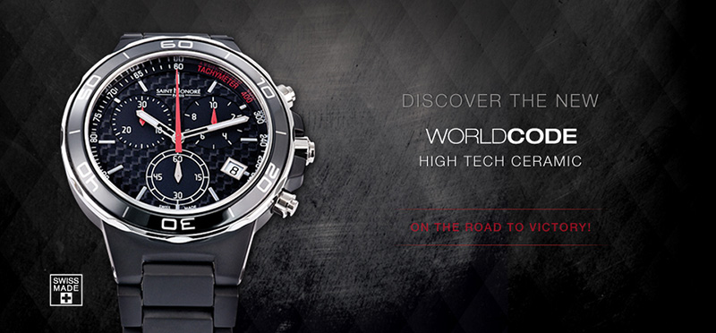 Saint Honore Worldcode Black Ceramic