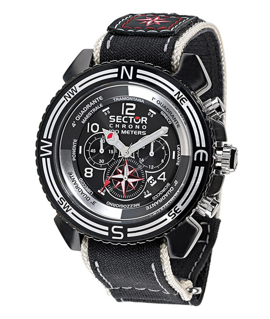 Sector Centurion Wind Rose Chronograph Watch