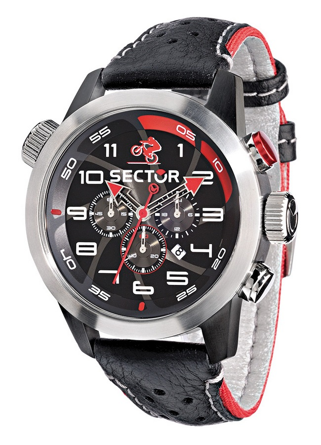 Sector Urban Collection Oversize Bike Chronograph Watch