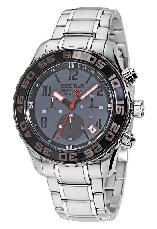 Sector Raceing Collection Pilot Master 45 mm Chronograph Watch