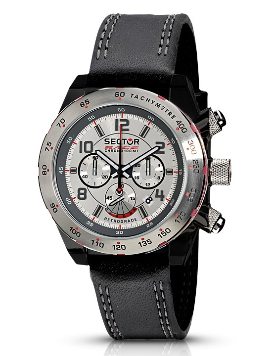 Sector Race Chronograph Retrograde Watch R3271660115