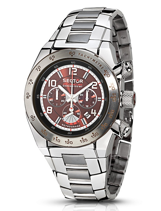 Sector Race Chronograph Retrograde Watch R3273660055