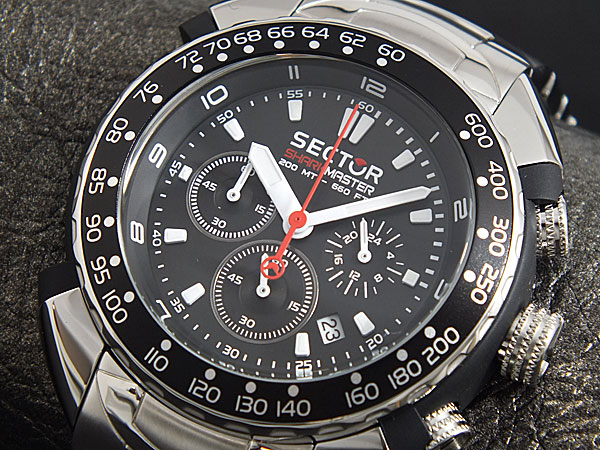 Sector shark master chronograph watch watch review - Sector dive master ...