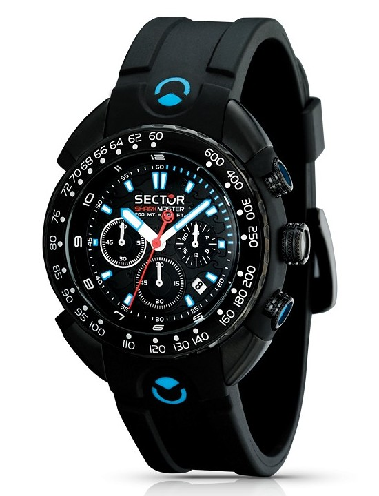 Sector Shark Master Chronograph Watch R3271678125