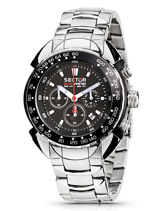 Sector Shark Master Chronograph Watch R3273678025
